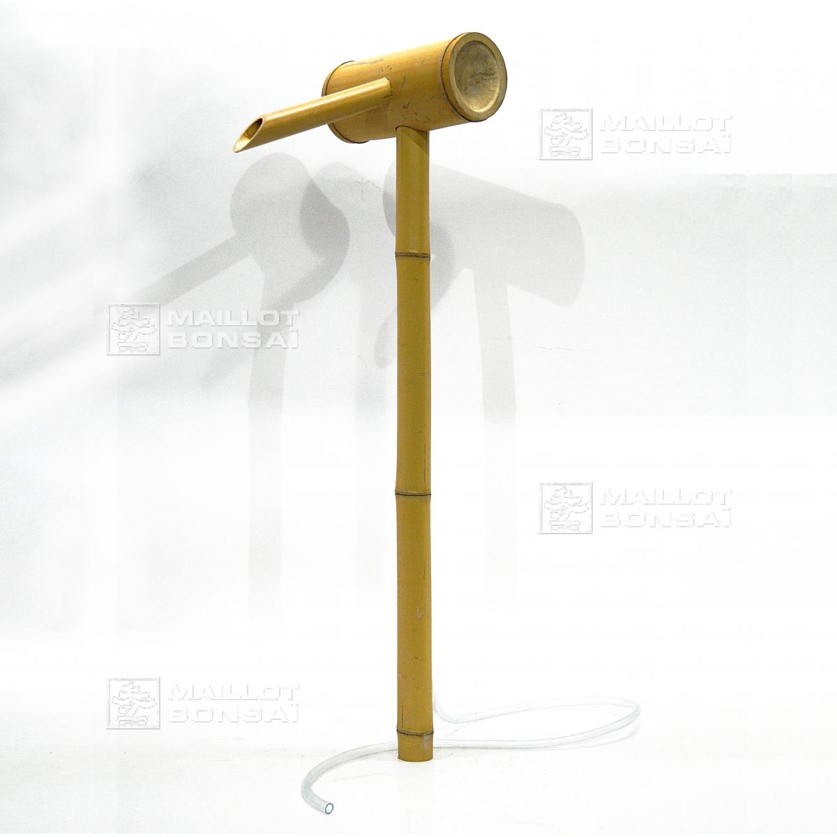 Bambous bec verseur de bassin tsukubai de maillot bonsa la boutique maillo - Arrosage bambou exterieur ...