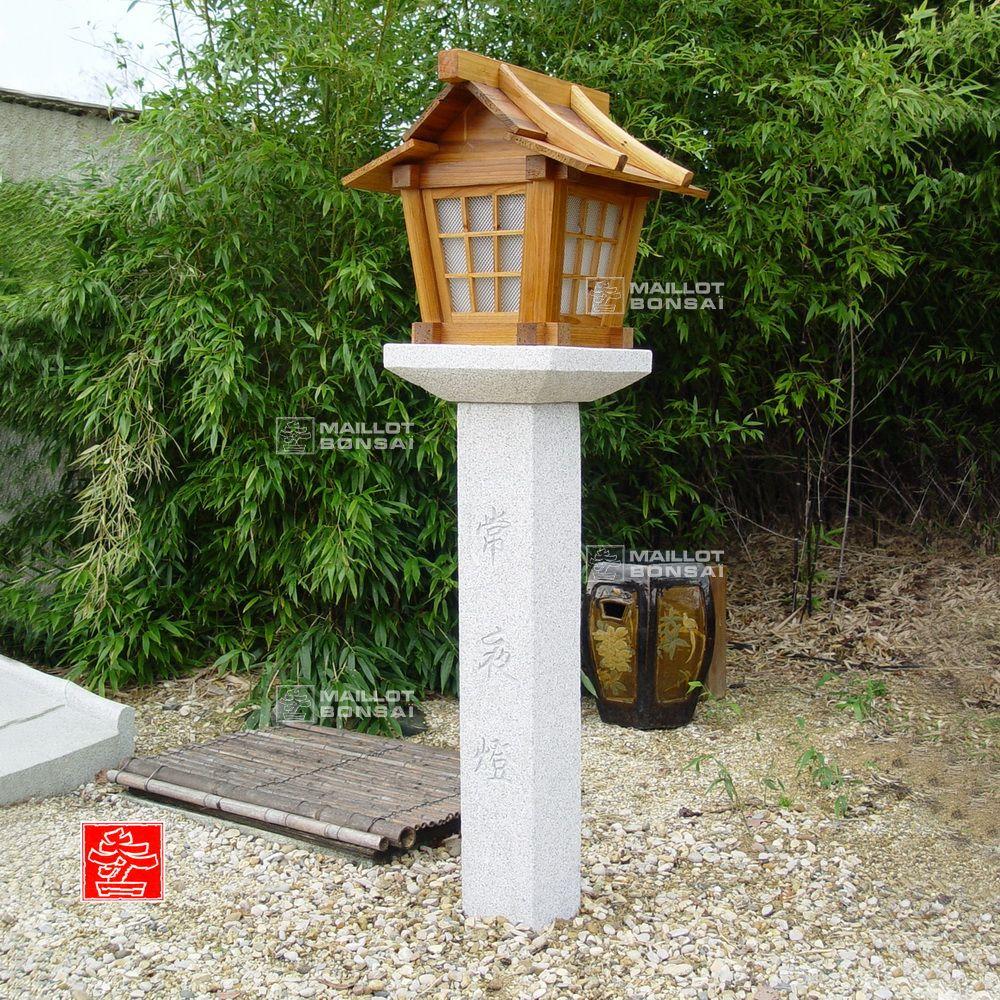 Lanternes En Granite Lanterne Granit Et Bois 160 Cm De Maillot