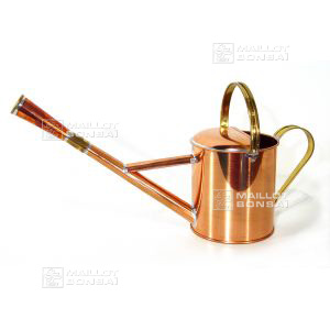 Copper watering can 1 litre with 1 nozzle