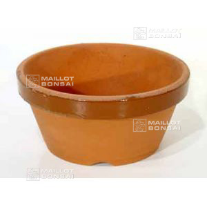 Low bonsai training pot N° 5