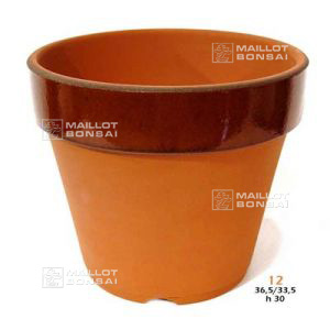 Deep bonsai training pot n° 12