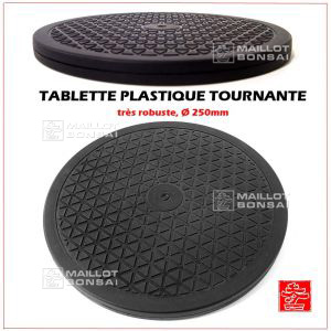 Table tournante plastique Ø 250 mm