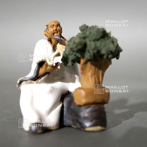 Figurine tailleur bonsai 8066