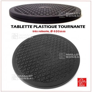 Table tournante plastique Ø 400 mm